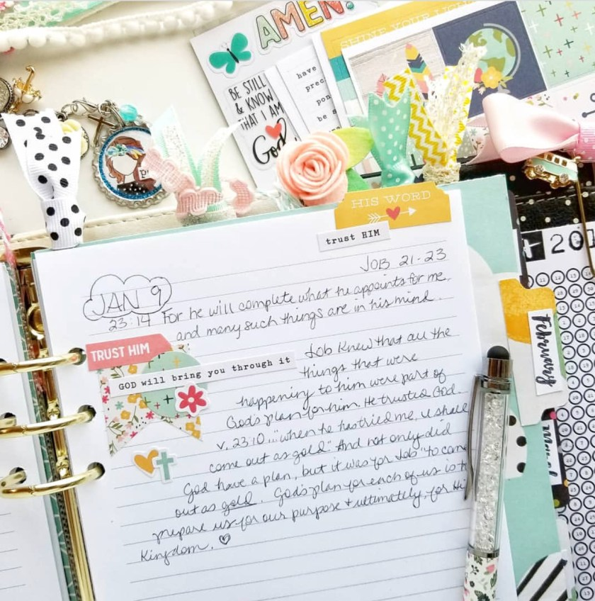 Bible Journaling – The Delightful Resource