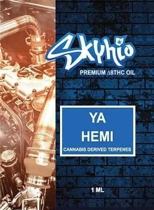 Delta 8 THC Vape Skyhio Ya Hemi CDT