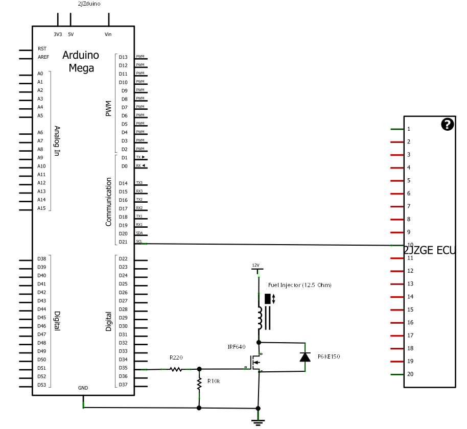 driver circuit and setup