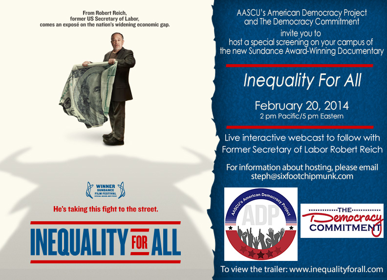 Inequality for All Flyer