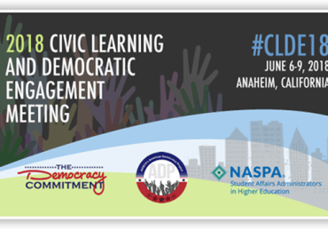 Call for Proposals: 2018 Civic Learning and Democratic Engagement Meeting
