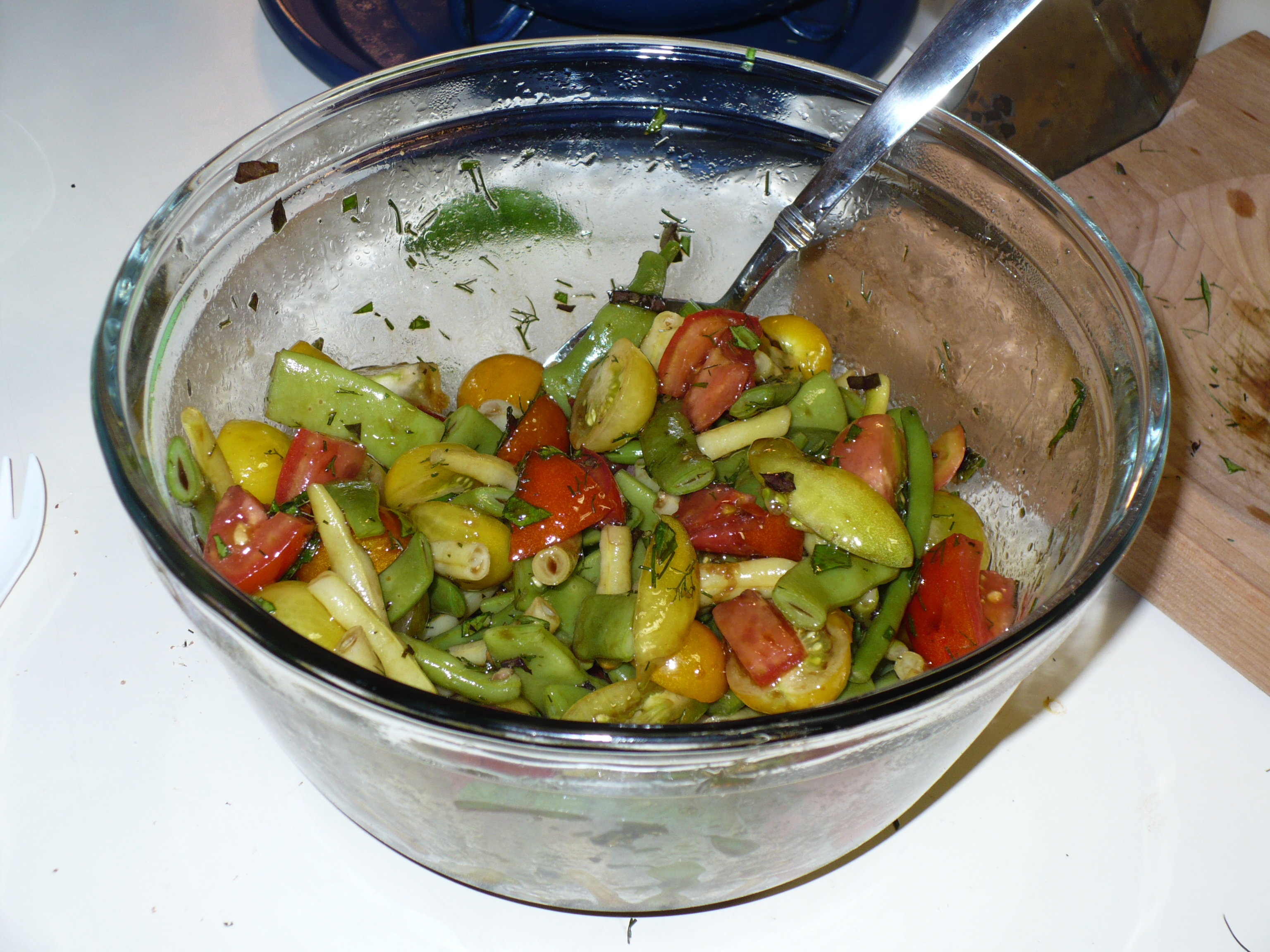 Finished Salad