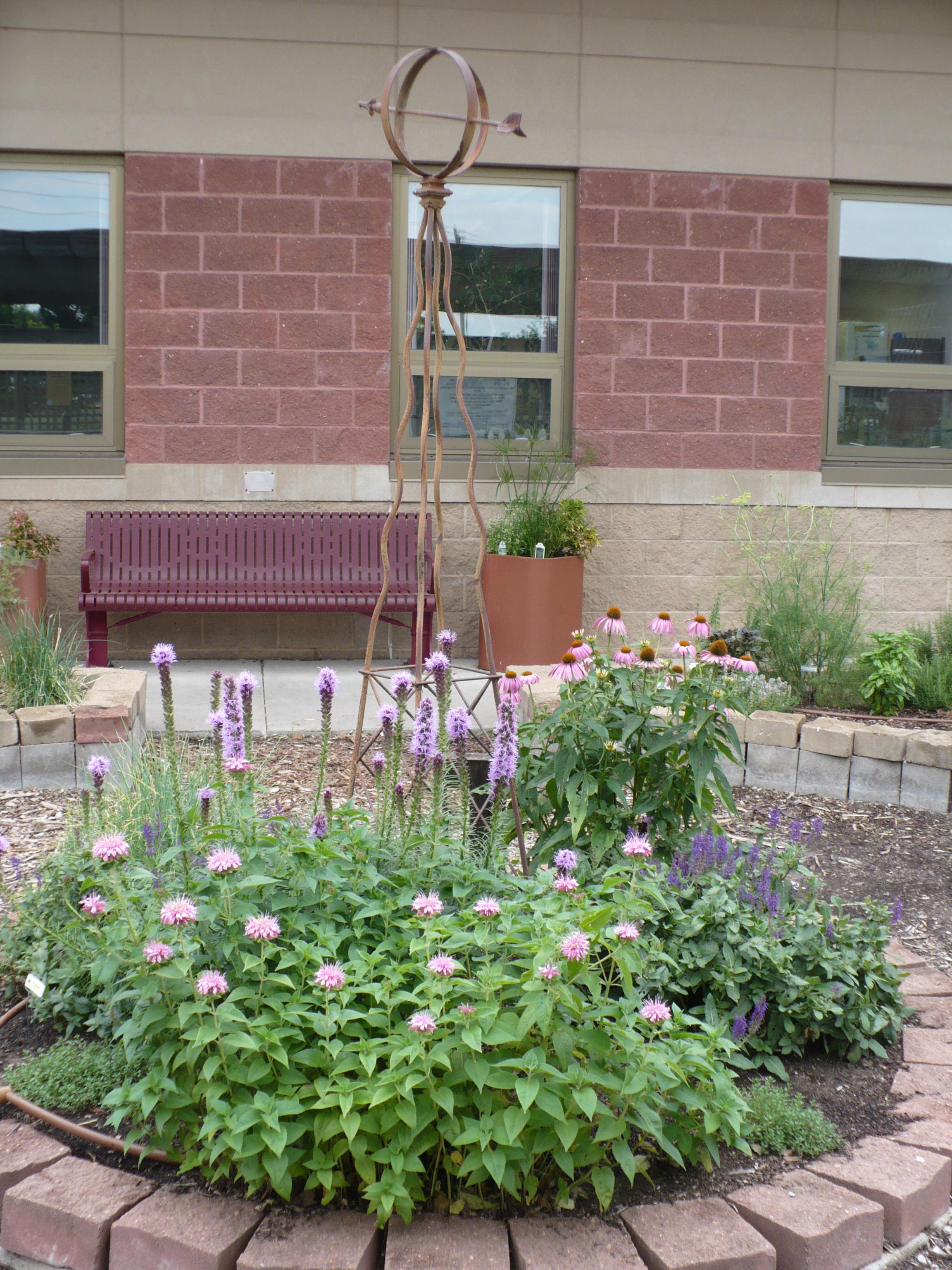 Center Herb Garden