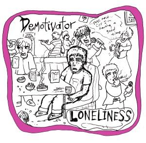 Loneliness by Demotivator