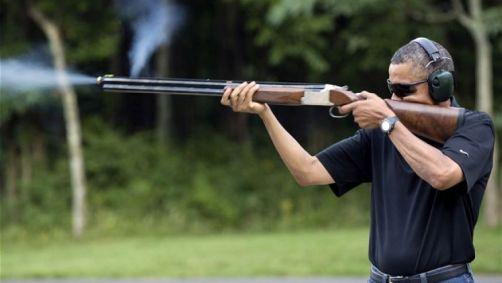 Obama and gun control.
