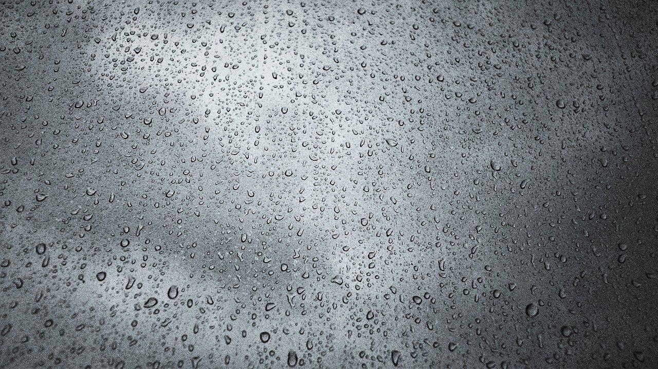 raindrops, cloud, window