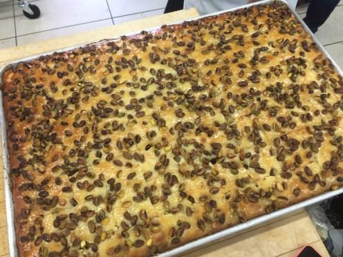 Nammoura with pistachio