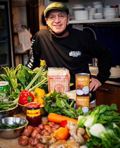 The inimitable Chef Greg Couillard