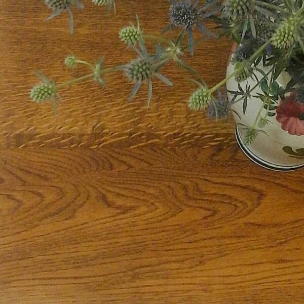 oak tabletop by reclectica