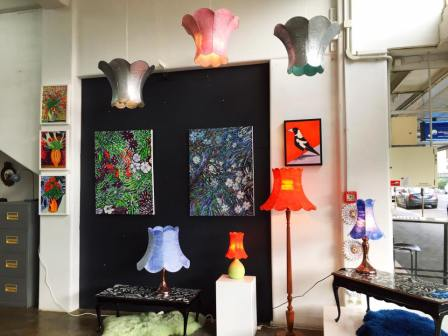 Heather Nelson - Paintings and Light shades