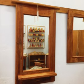 Mirror - The Rimu Shed