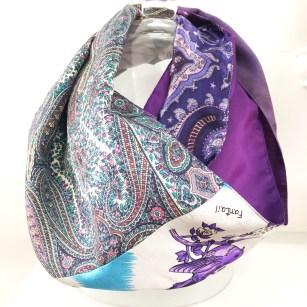 Silk Infinity Scarf - Marian Smale