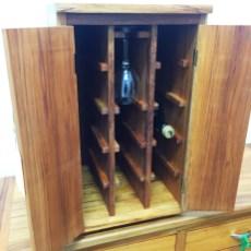 Wine Cupboard - The Rimu Shed