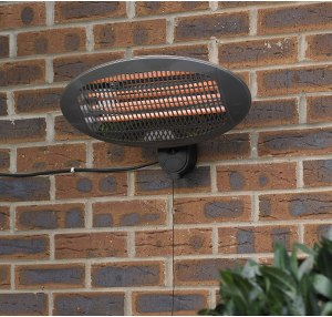 Kingfisher Wall Mounted Electric Patio Heater