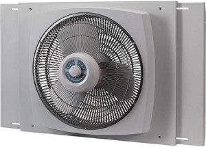 """Lasko 16"""" Electrically Reversible Window Fan"""