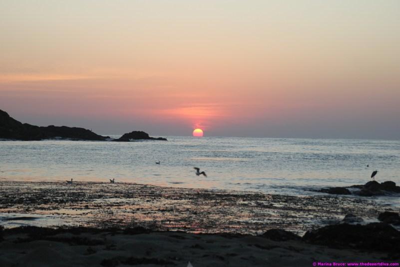 Sunrise at fisherman's beach 24.12.14