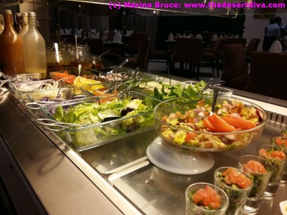 Great choice of salads