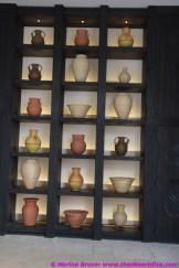 Stylish Display of pots