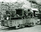 6 ton Plymouth locomotive, friction drive of Baby Gauge Railroad - Courtesy National Park Service, Death Valley National Park