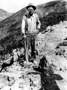 Jimmie Dodson - old time cousin Jack, single jack miner - Courtesy National Park Service, Death Valley National Park
