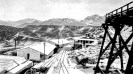 Ryan, California - Dormitories and hospital 1916 - Courtesy National Park Service, Death Valley National Park