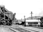 Ryan, California. Yard scene 1922 - Courtesy National Park Service, Death Valley National Park