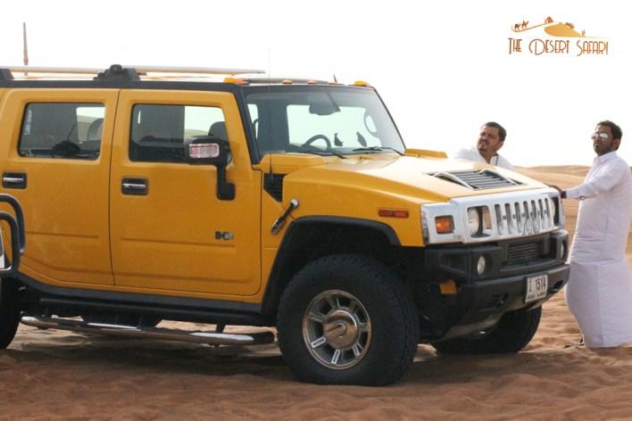 Hummer for Off Roading in Dubai