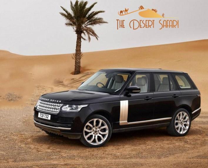 Range Rover for off roading in Dubai