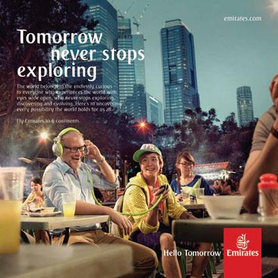 Emirates New Movement Hello Tomorrow  TheDesignAir
