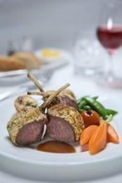 Emirates First Class Lamb Rack