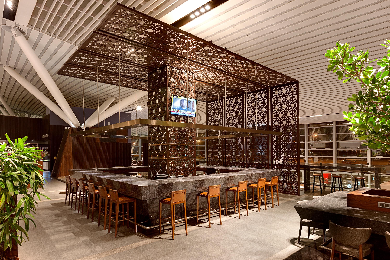 Plaza Premium Lounge Kempegowda Bar Area Domestic