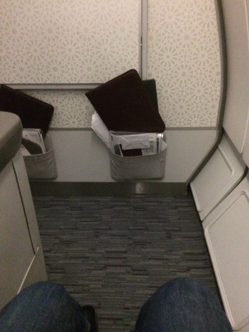 Space available on the A330 bulkead