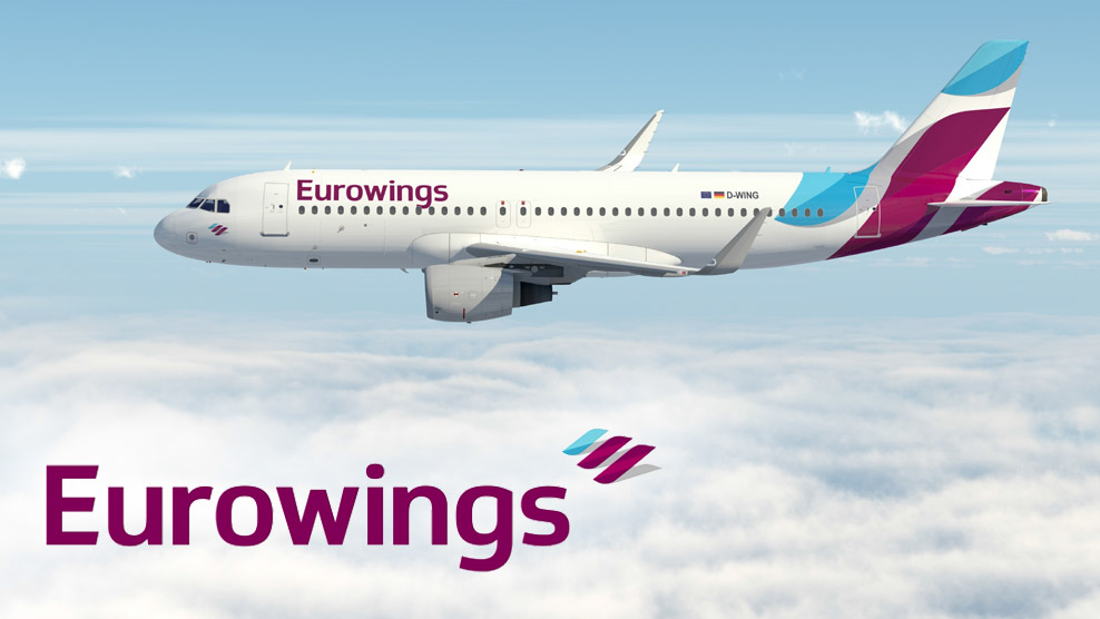 New Eurowings Brand Painted Up On First Aircraft  But Is It A Good Livery  TheDesignAir