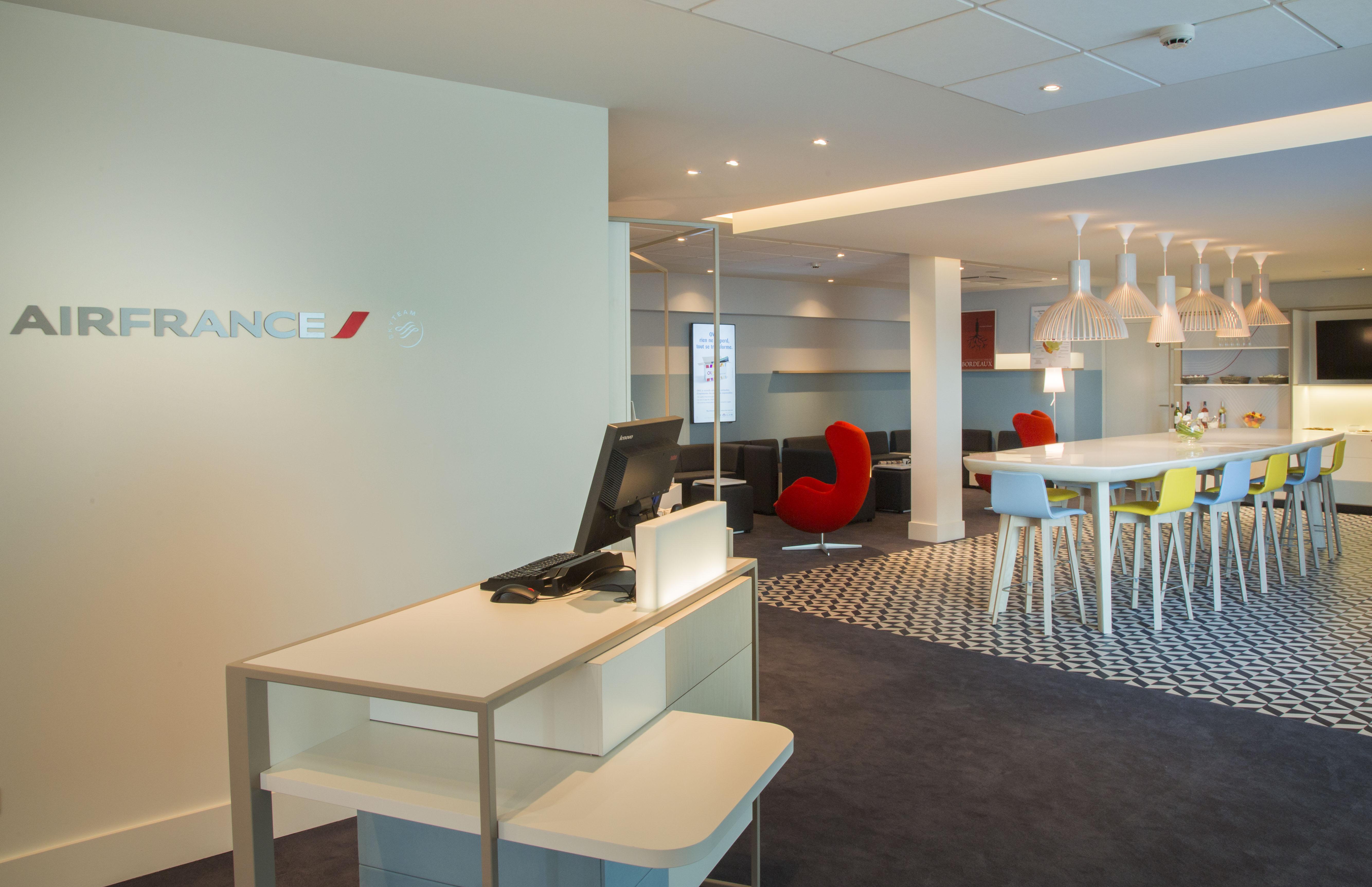 Air France Create Regional Designer Lounge In Bordeaux  TheDesignAir