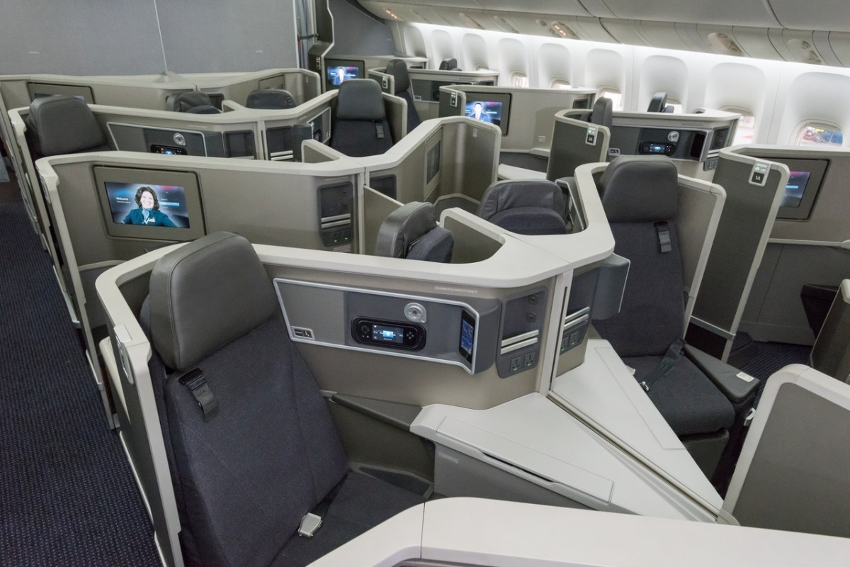 This Week American Airlines Completes 777 Business Class