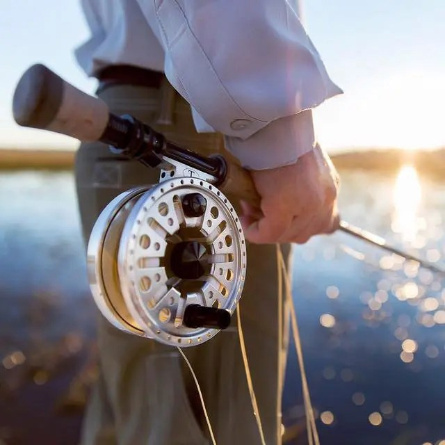Fly fishing real photo by Bobby Altman