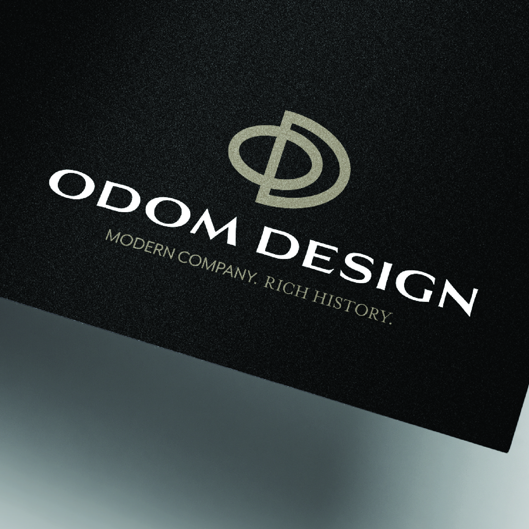 Odom Design Folder Design