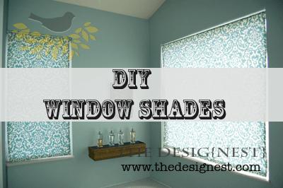 how to make fabric roller shades diy design diy fabric roller shade