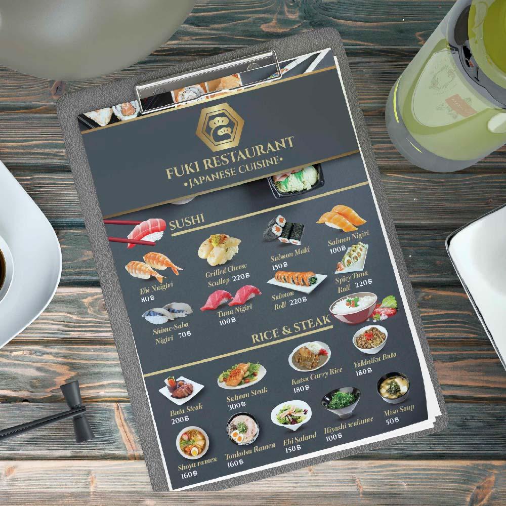 เมนูอาหาร FUKI RESTAURANT
