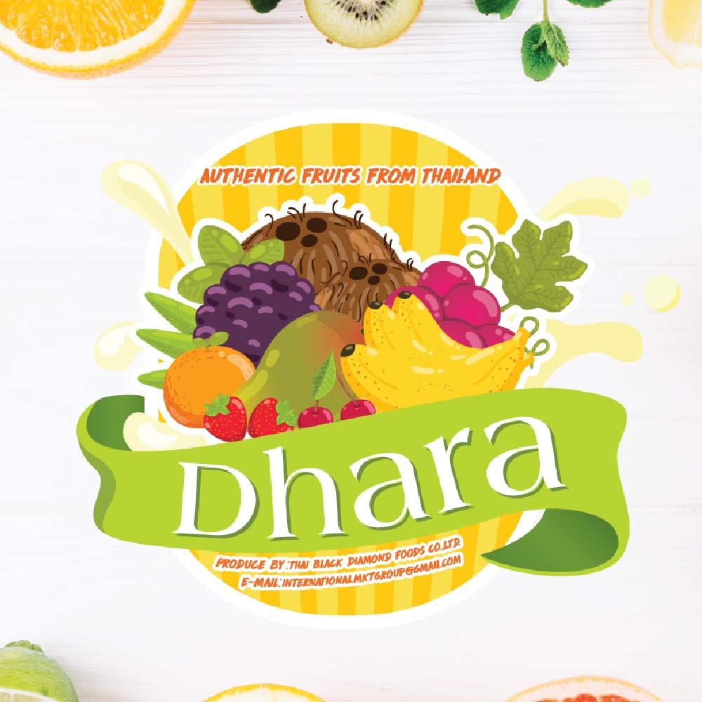 โลโก้ Dhara