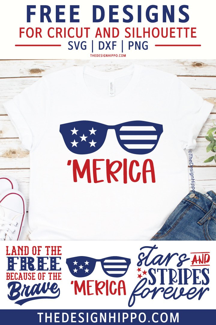4th Of July Svg Free : Files, Cricut