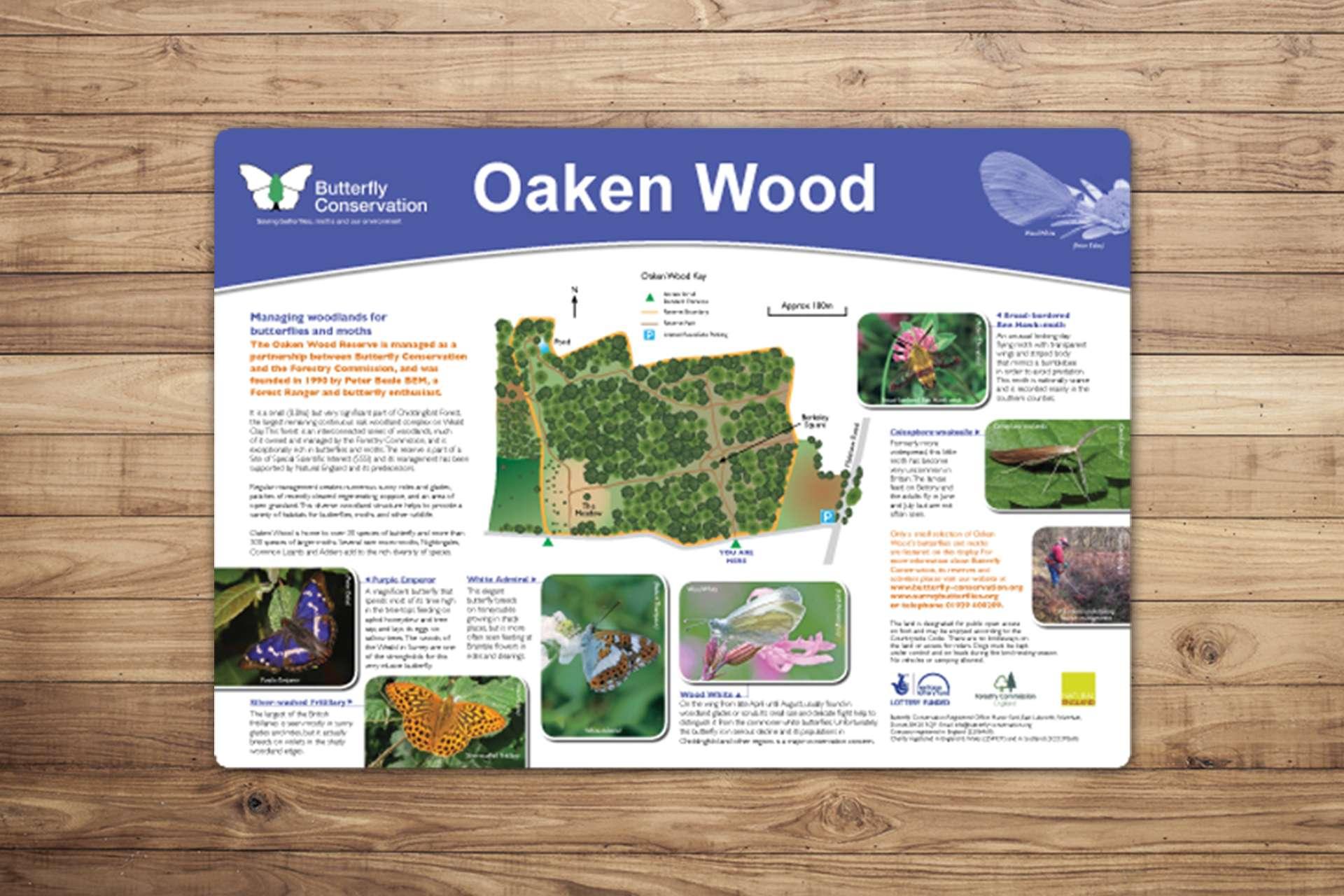 Countryside interpretation panels