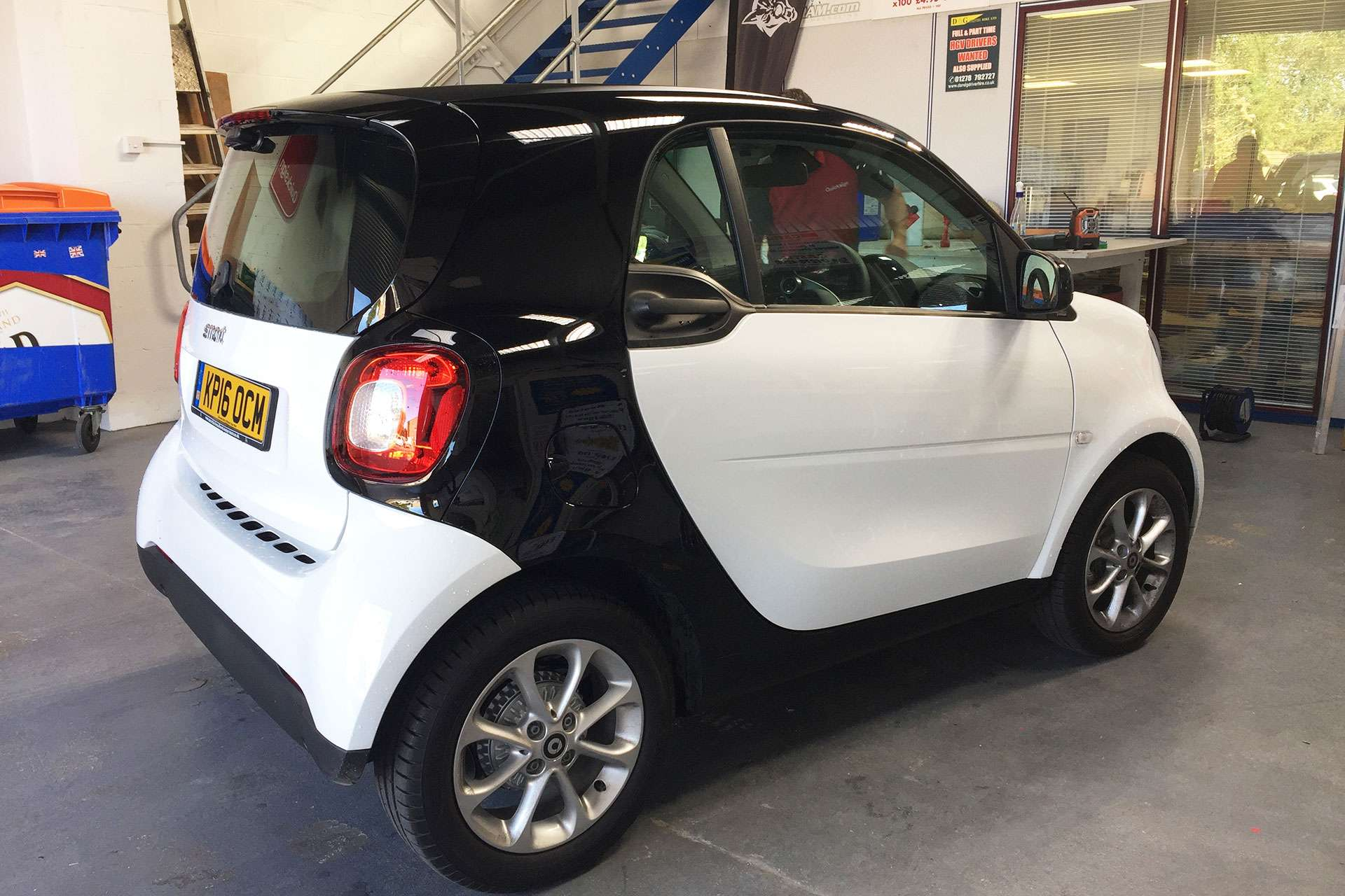 Vehicle wrap for C&H Carpets in Highbridge, Somerset