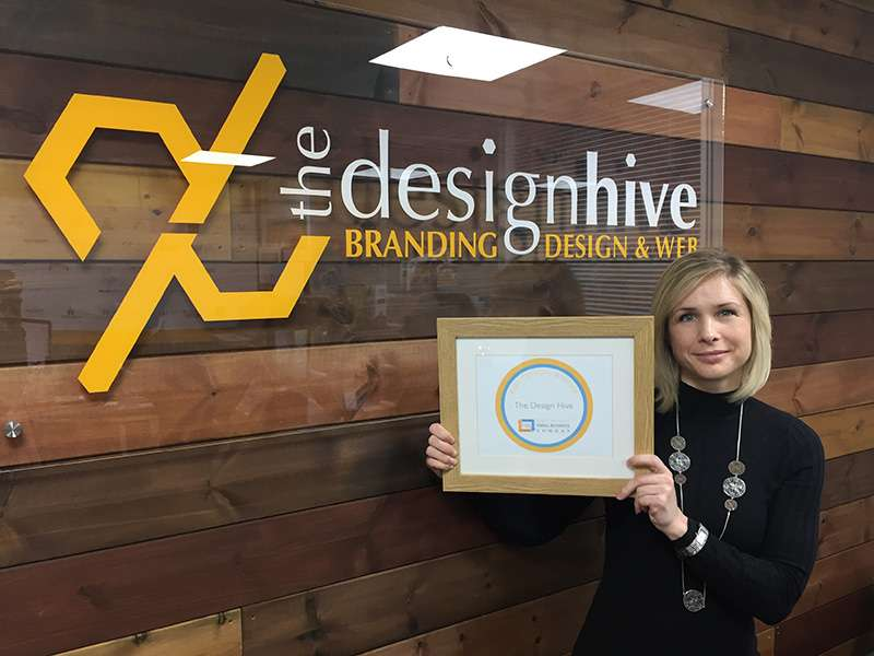 The Design Hive, who are based in Highbridge, Somerset, gets a Twitter Boost from Theo Paphitis