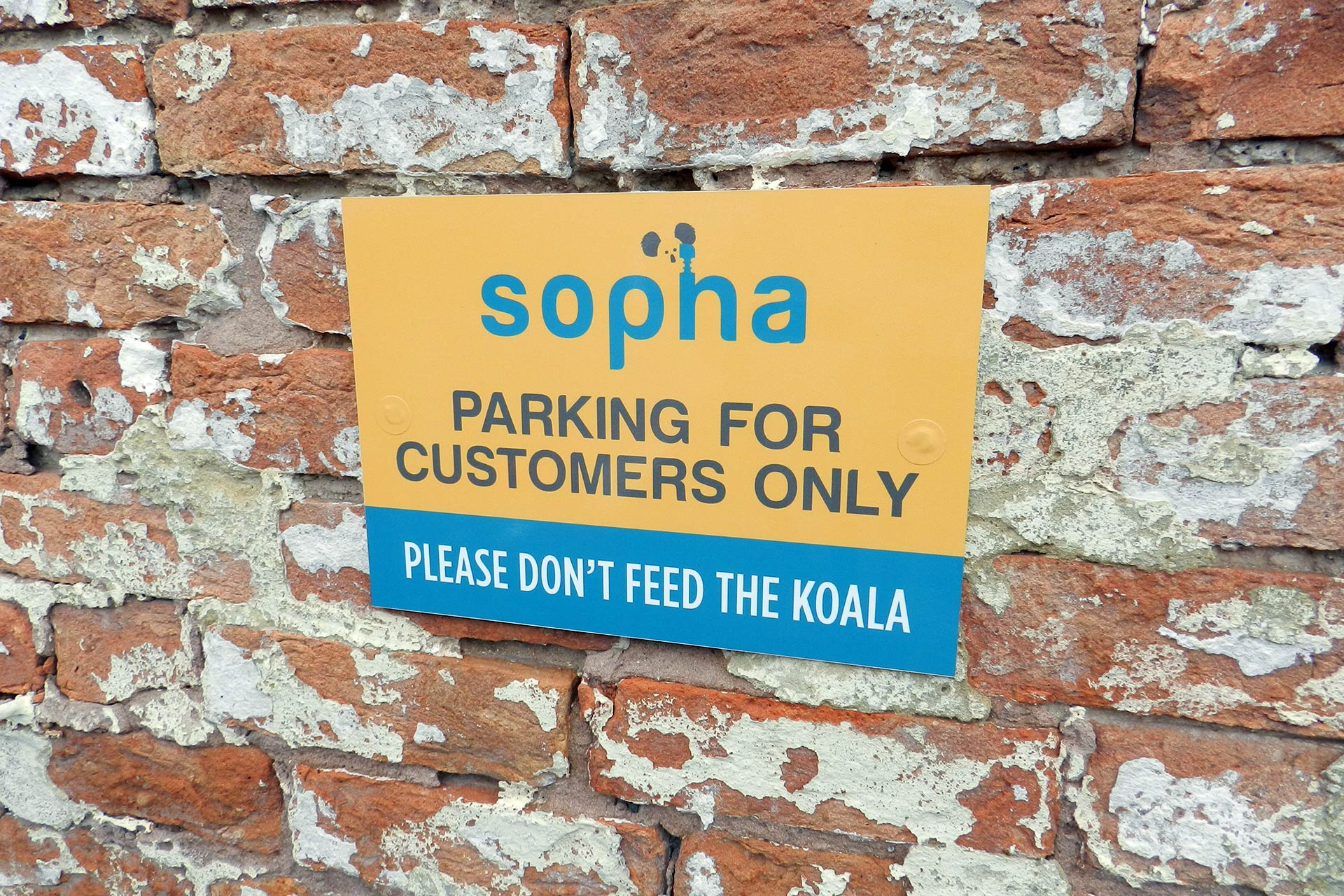 Sopha-furniture-branded-signage-taunton-1 The Importance of Branding & Graphic Design in a Business
