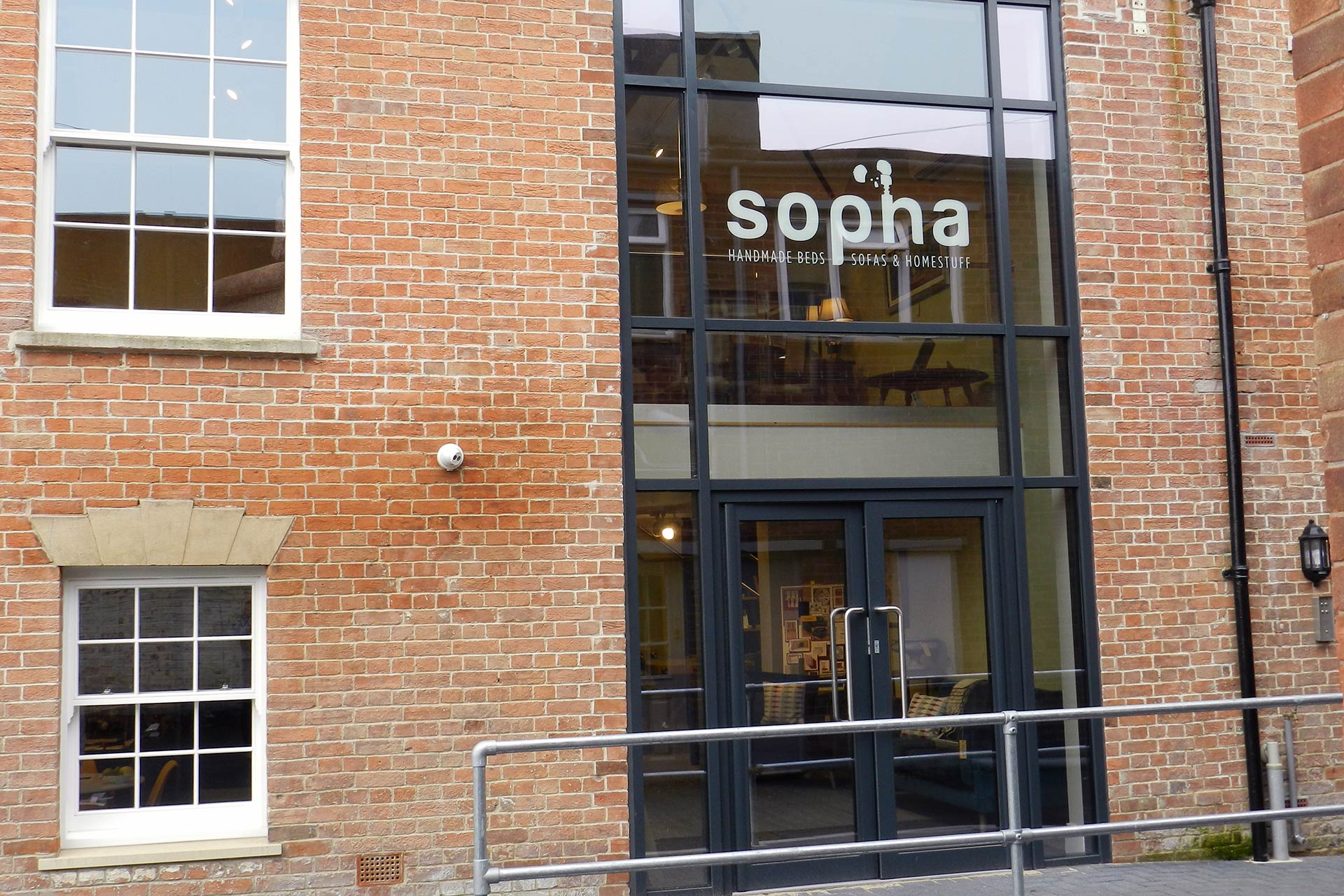 Sopha-furniture-shop-front-signage-Somerset The Importance of Branding & Graphic Design in a Business