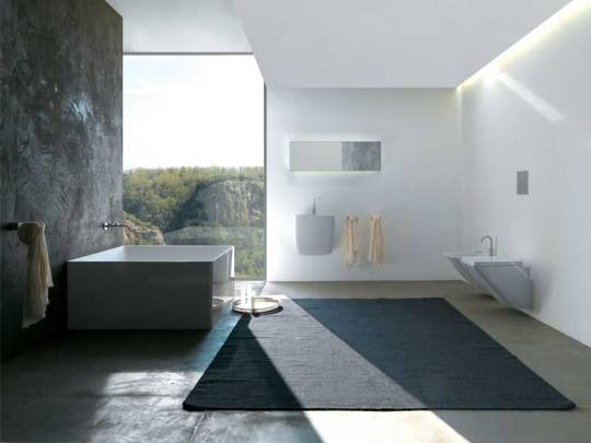 Minimalistic And Cozy Modern Bathroom Designs From Colacril
