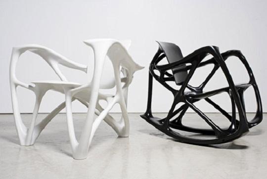 Unique Bone Furniture Design By Joris Laarman Lab