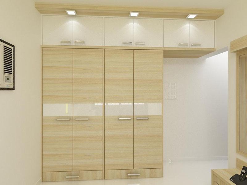 Wooden Portable Closet Wardrobe