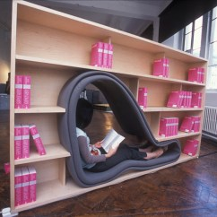 Kitchen Designs On A Budget High Table With Storage Cave Bookcase Reading Space By Sakura Adachi